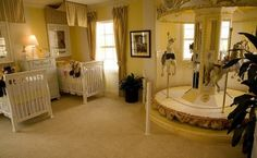 Gorgeous twin baby room baby-ideas