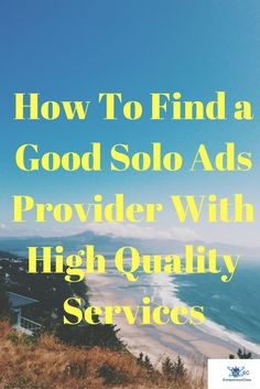 Want to start solos ads? Here is is simple and effective ways to find a good solo ads provider with high quality services without scamming. Seo Marketing, Affiliate Marketing, Internet Marketing, Solo Ads, Business Entrepreneur, Money Tips, Online Business, How To Become, Blog