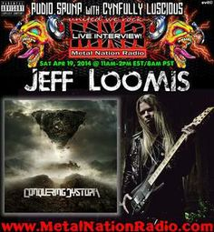 Jeff Loomis and I sat down and talked about his new band Conquering Dystopia