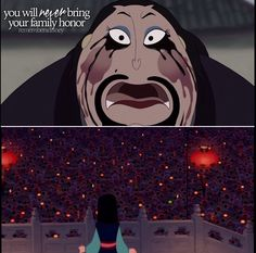 Mulan proving them wrong