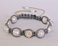 shamballa pearl bracelet
