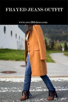 """Over 101 shoes"""": 1ª Lección del diccionario denim: Frayed jeans"""