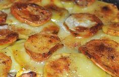 Vďaka tomuto receptu sa do francúzskych zemiakov opäť zamilujete. Kto by si pomyslel, že obyčajné suroviny, ktoré dnes už v pohode nakúpite v obchode, vytvoria také úžasné jedlo. Natenko nakrájané zemiaky pečené v rúre a nové chute dodajú tomuto jedlu úplne nový rozmer. Francúzi pôvodne pripravovali recept nasledovne. Všetky ingrediencie si pripravili doma a následne Cordon Bleu, French Toast, Meat, Chicken, Breakfast, Beef, Morning Coffee, Morning Breakfast, Cubs