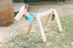 Lasso a Horse Game from a County Fair Themed Birthday Party via Kara's Party Ideas | The Place for All Things Party! KarasPartyIdeas.com (24)