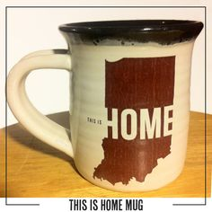 This is Home Mug from United State of Indiana