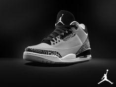 "Air Jordan 3 Retro ""Wolf Grey"" - Official Look | SneakerFiles"