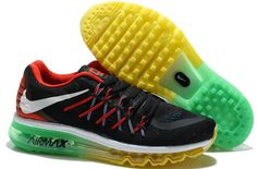the best attitude cf338 cda37 Buy Mens Running Shoes Nike Air Max 2015 Black Yellow Green Red White  Lastest from Reliable Mens Running Shoes Nike Air Max 2015 Black Yellow  Green Red ...