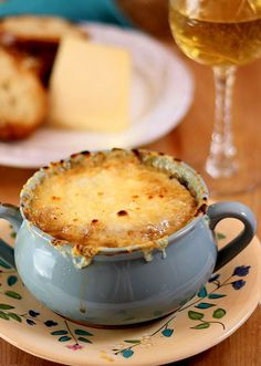 A wonderful French Onion Soup from Famous & Barr in St. Louis, Missouri. The stores are now gone but this soup will live on forever!