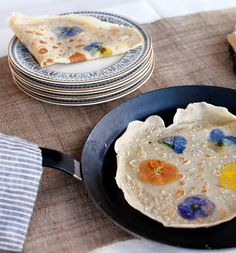 Pansy Crepes!