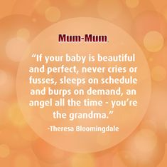 Grandma's little angel never misbehaves 👼🏻  #quoteoftheday #babymummums #ricerusks #happybaby Sweet Sayings, Sweet Quotes, Happy Baby, Mother And Father, Quote Of The Day, Crying, Angel, Words, Cute Words
