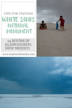White Sands National Monument, 24 Hours in Alamagordo by inspireandwander.com