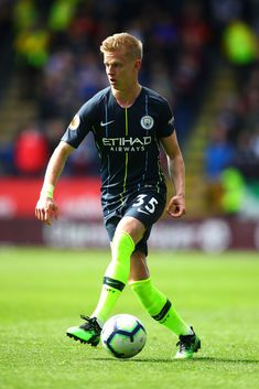 BURNLEY, ENGLAND - APRIL Oleksandr Zinchenko of Manchester City in action during the Premier League match between Burnley FC and Manchester City at Turf Moor on April 2019 in Burnley, United Kingdom. (Photo by Chris Brunskill/Fantasista/Getty Images) Burnley Fc, Zen, Premier League Matches, Manchester City, United Kingdom, England, Action, Running, Sports