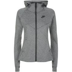 Nike Tech Pack Hoodie ($120) ❤ liked on Polyvore featuring activewear, nike sportswear, nike, logo sportswear and nike activewear