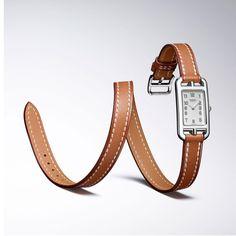 Baselworld Hermès Nantucket TPM * Watches World Nantucket, Hermes Jewelry, Jewelery, Jewelry Watches, Baselworld 2017, Hermes Watch, Jewelry Accessories, Fashion Accessories, Harper's Bazaar