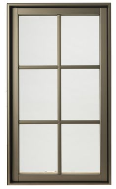 Hurd H3 Window In Anodized Bronze Color Windows Replacement Frames