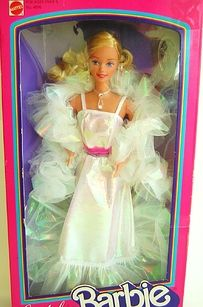 Loved this one!! Crystal Barbie | 18 Barbie Dolls From The '80s And '90s That Are Worth A Fortune Now