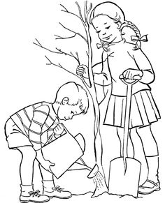 Arbor Day Coloring Pages Printable. Are you looking for Arbor Day Coloring Pages theme? Earth Coloring Pages, Garden Coloring Pages, Abstract Coloring Pages, Tree Coloring Page, Coloring Pages For Boys, Coloring Book Art, Coloring Pages To Print, Printable Coloring Pages, Art Drawings For Kids