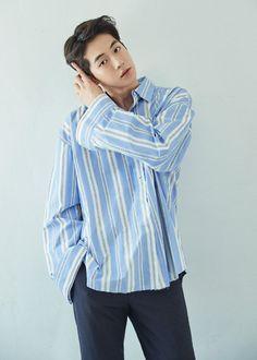 Korean Hairstyle Men: Korean Haircuts are normally remarkable. Korean Men Hairstyle, Korean Haircut, Korean Hairstyles, Japanese Hairstyles, Men Hairstyles, Haircuts, Asian Actors, Korean Actors, Nam Joo Hyuk Cute