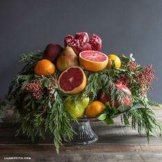 Gorgeous Fresh Fruit Centerpieces
