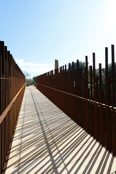 Footbridge in the Valle dei Templi by COTTONE+INDELICATO ARCHITECTS, JOAN PUIGCORBÉ