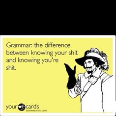 Why grammar is SO important