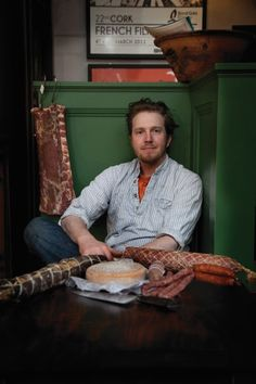 Fingal Ferguson of the award-winning Gubbeen Smokehouse produces high-quality smoked bacon and other cured meats from whey-fed pigs on the Ferguson's farm in Schull, West Cork. Photo by Barry McCull Chapter One Restaurant, Restaurants In Dublin, Ireland Uk, West Cork, Artisan Food, Smoked Bacon, Irish Recipes, Street Food, The Cure
