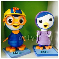 Pororo- made by Only 1 Art Centre