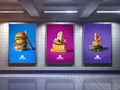 Free Indoor Advertising Poster Billboard Mock-up PS (7.65 NB) | Dribbble Graphics | #free #photoshop #mockup #psd #indoor #advertising #poster #billboard