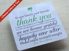 easy to make thank you cards