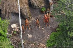 Imperiled Amazon Indians Make 1st Contact with Outsiders