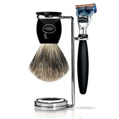 Grooming gifts for dad: The Art of Shaving Black Fusion Compact Shaving Set