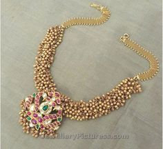 Tussi Necklace Latest Indian Jewelry - Jewellery Designs