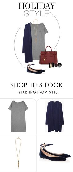 """""""Christmas Shopping"""" by shar-fashion on Polyvore featuring mode, T By Alexander Wang, Zucca, Roberto Cavalli, Chloé, Yves Saint Laurent, Chanel, holidaystyle en oversizeddress"""