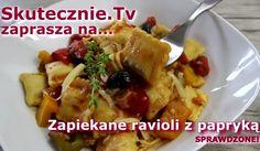 Zapraszamy do zapoznania się z przepisem na serowe ravioli z papryką. Danie to jest proste i szybkie w wykonaniu. Smakuje naprawdę doskonale!