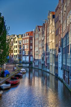 Amsterdam, Netherlands  http://www.travelandtransitions.com/destinations/destination-advice/europe/