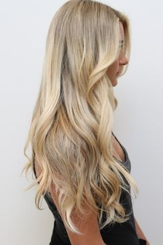 sandy blonde and bleach blonde ombre - Google Search