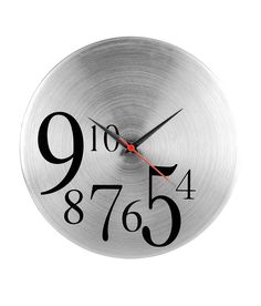 423177720a Cosmosgalaxy Trendy Round Silver Wall Clock, http://www.snapdeal.com
