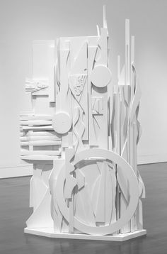 "ronulicny: """"Dawn's Presence - Two Columns"", c. 1975 By: LOUISE NEVELSON…. """