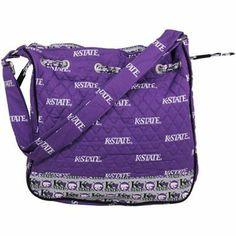 Kansas State Wildcats Ladies Quilted Drawstring Tote - Purple - $34.95