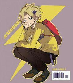 Kaminari Denki - Boku no Hero Academia - Image - Zerochan Anime Image Board My Hero Academia Shouto, My Hero Academia Episodes, Hero Academia Characters, Anime Characters, Fictional Characters, Human Pikachu, Tamaki, Anime Crafts, Maid Outfit
