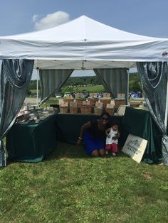 My little girl Savannah Madison visits me during an event. Sheu0027s a future connoisseur of & My craft show booth setup at The vintage Virginia Wine fest ...