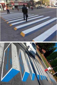 China Zebra Crossing, China, Outdoor Decor, Inspiration, Biblical Inspiration, Porcelain, Inspirational, Pedestrian Crossing, Inhalation