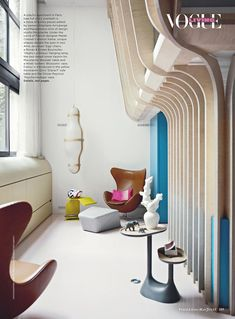 Moustache design studio founders home in Vogue Living May/June '13 via happymundane.com