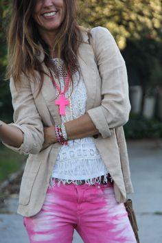 pink for fall - mytenida