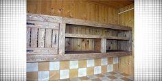 Деревянная кухня своими руками фото процесса