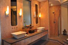 Zen Bathroom #granite #vangura
