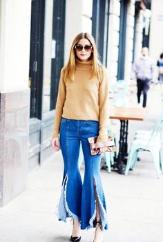 Olivia Palermo in SJYP jeans