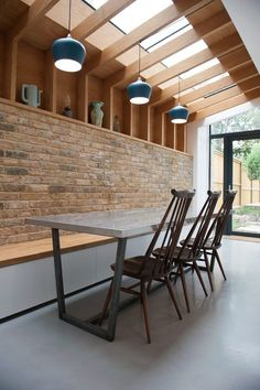 A fully architecturally renovated and extended Victorian terraced house The new extension to the rear of the house has the kitchen dining and scandi style seating area wi… – Home Renovation House Design, House, Victorian Terrace Interior, Home, Victorian Homes, New Homes, Home Renovation, House Extension Design, Renovations