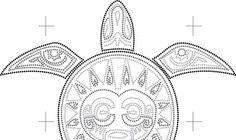 tribal schildpad