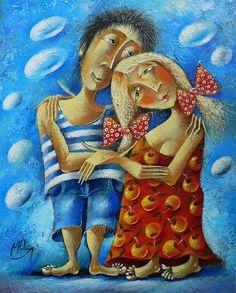 Yuri Matsik             L'artista ucraino Yuri Matsik è  nato ( 1956)  e cresciuto a Uzhgorod nei Carpazi. Ha conseguito il suo diploma...
